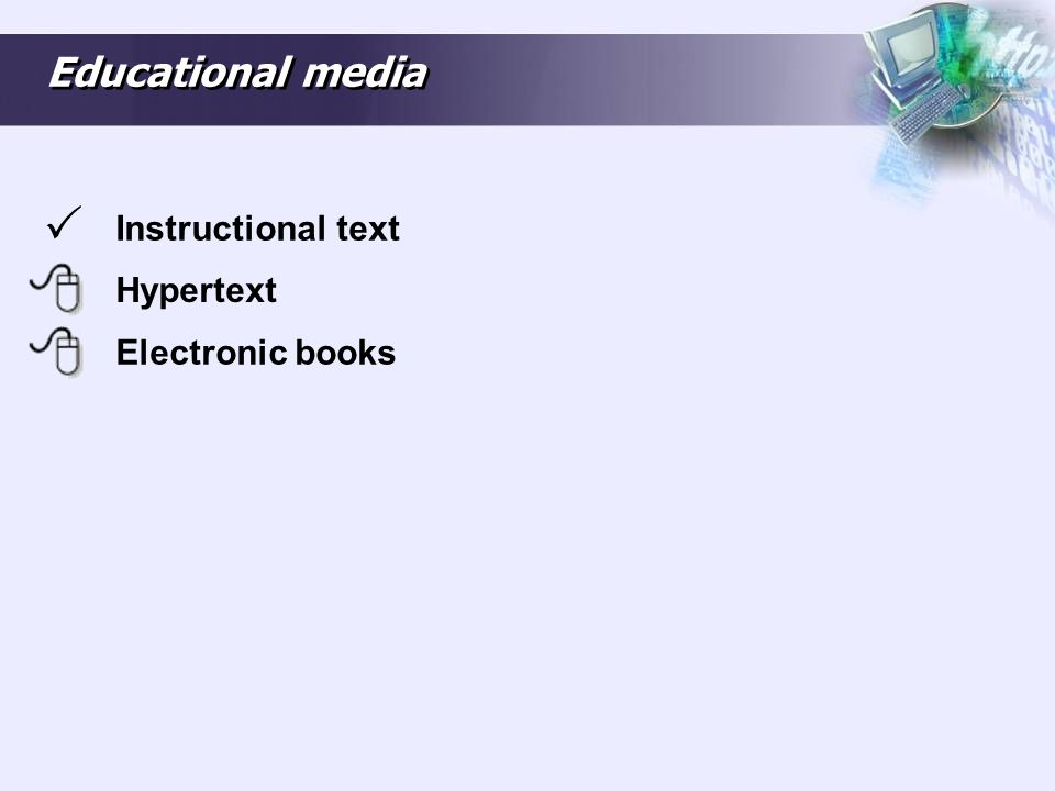 Hypertext Hypertext is text displayed on a computer or other digital device with references (hyperlinks) to other text that the reader can immediately access, usually by a mouse click or key press sequence.