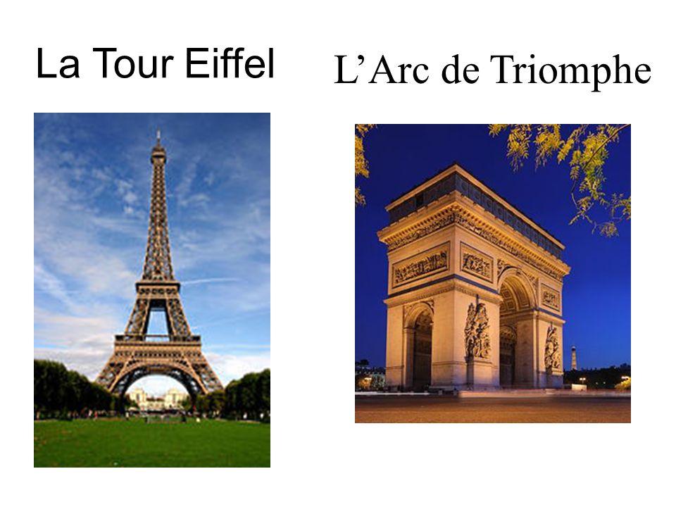 La Tour Eiffel LArc de Triomphe