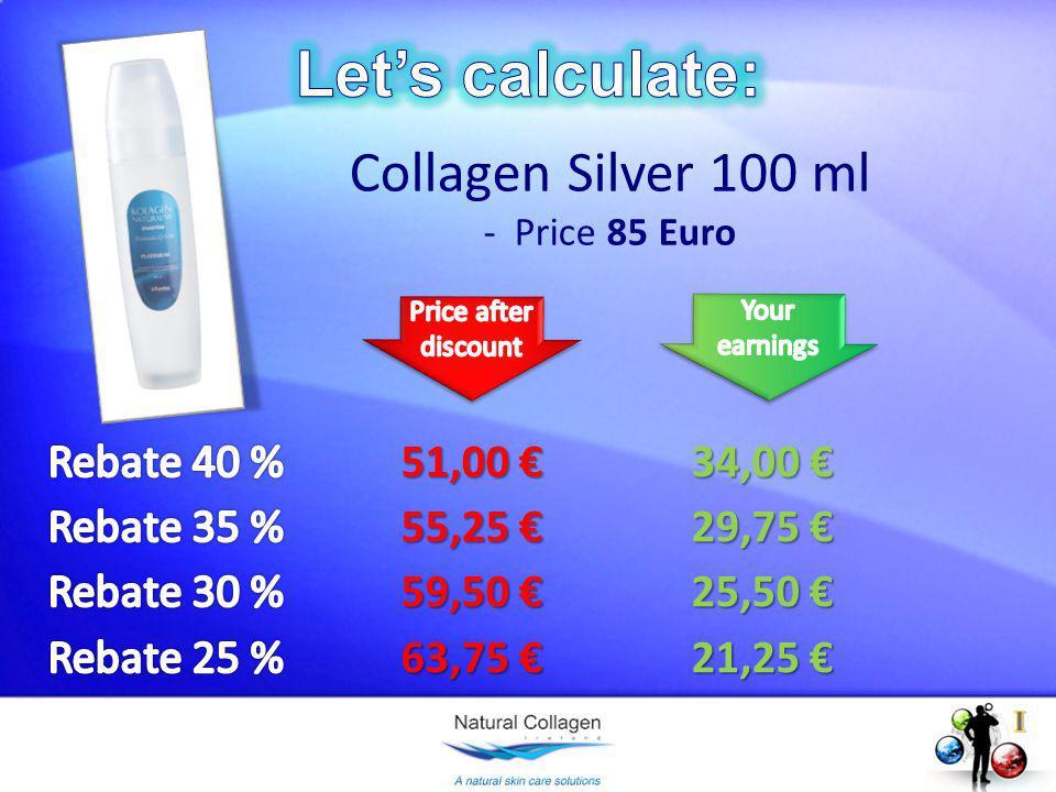 Collagen Silver 100 ml - Price 85 Euro