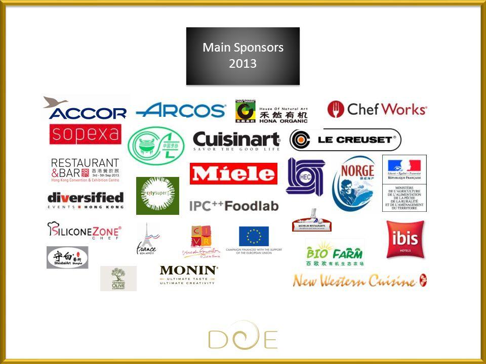 Main Sponsors 2013