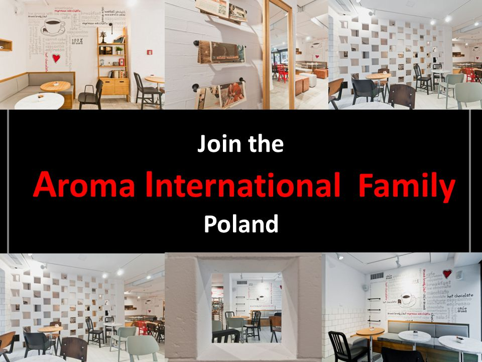 Join the A roma I nternational Family Poland