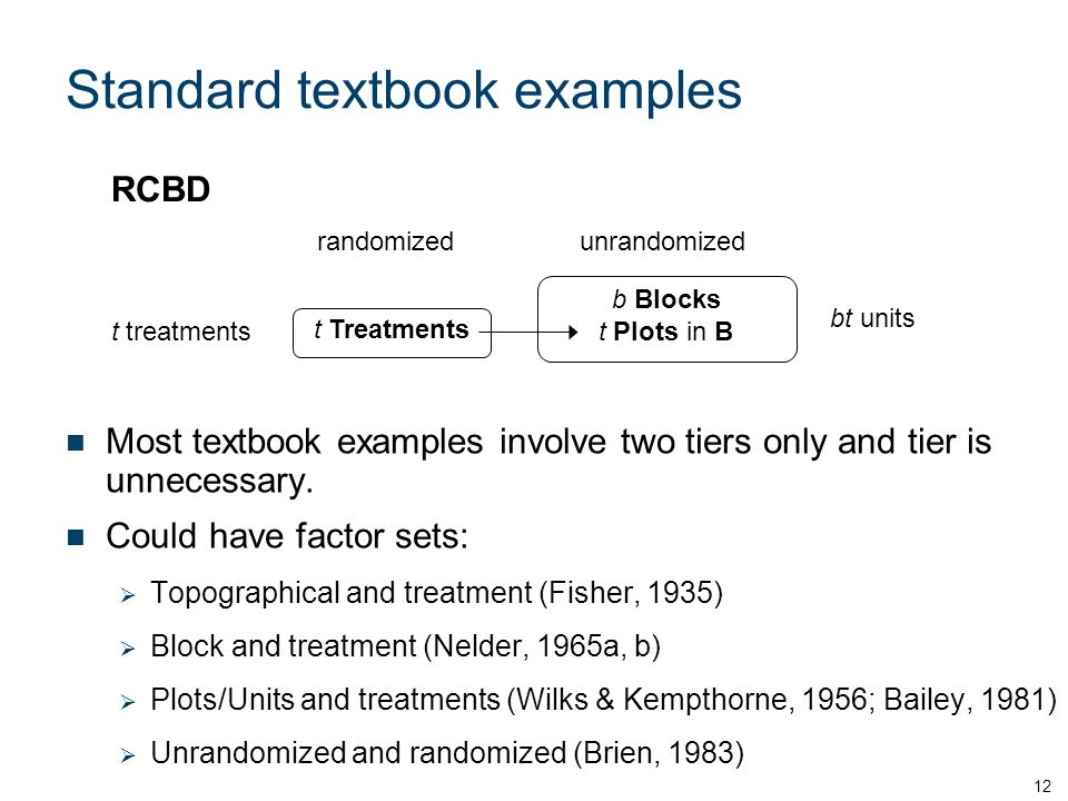 Standard textbook examples Most textbook examples involve two tiers only and tier is unnecessary.