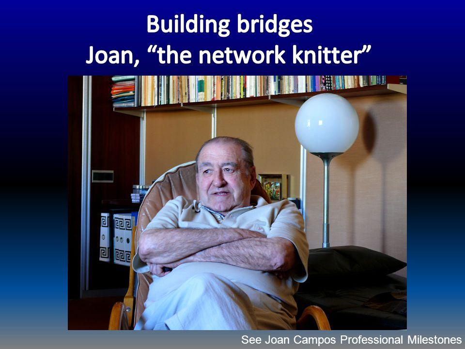 See Joan Campos Professional Milestones