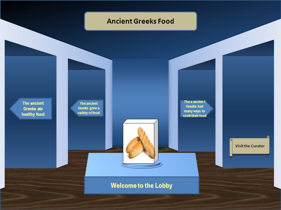 Name of Museum Safa Danesh Making this museum was very interesting because I got to learn all about why the ancient Greeks ate the food they ate.