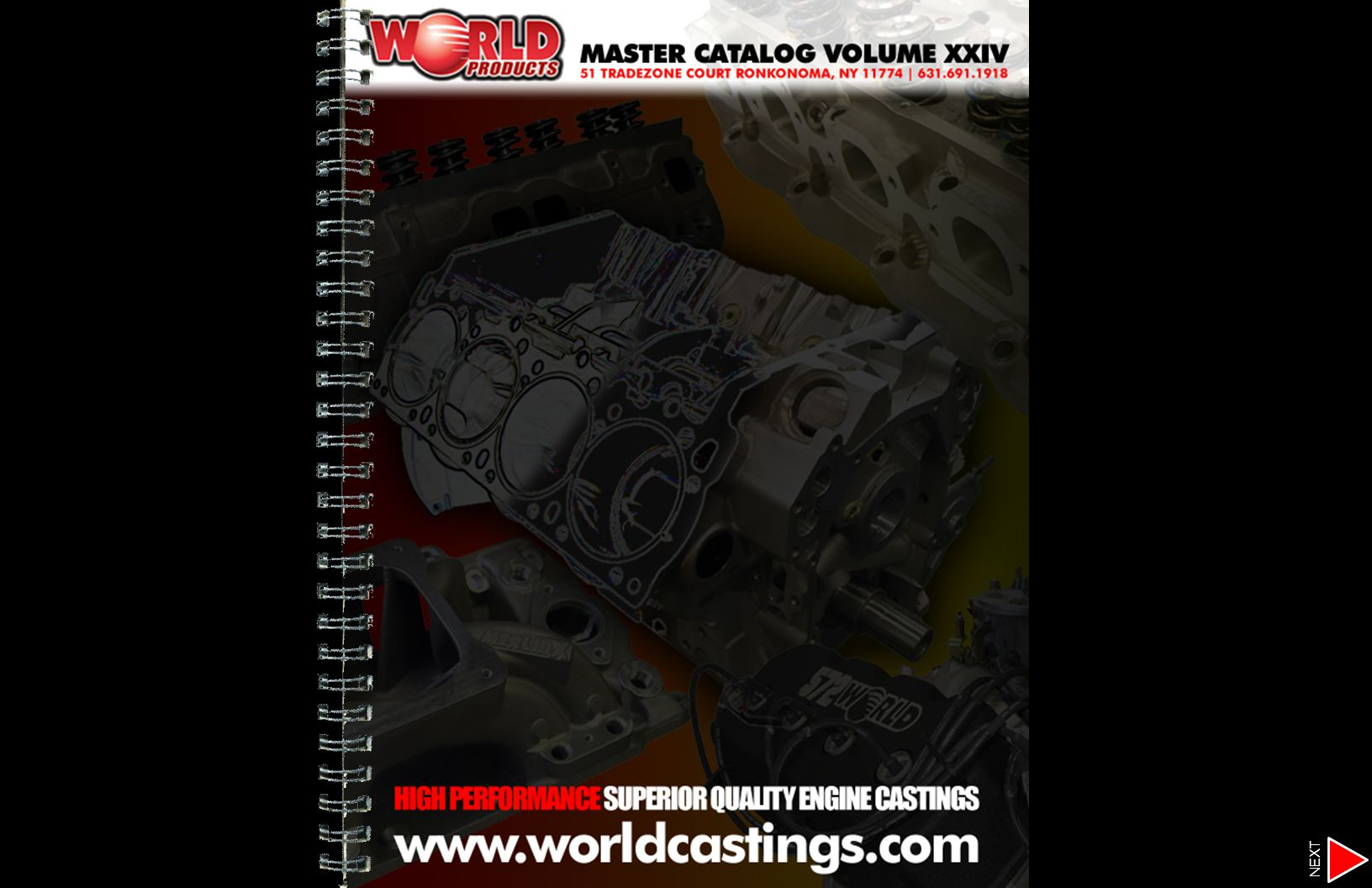 MERLIN Big Block Chevy OVAL & RECTANGULAR PORT IRON CYLINDER HEADS TECHNICAL SPECIFICATIONS Casting ID Numbers: WOR-043B (345cc) WOR-043D (320cc) WOR-043D (269cc) Material: High density cast iron Valve Seats: Intake (integral), exhaust (hardened) Valve Guides: Integral cast iron Spring Seats: Machined for 1.560 (can machine to 1.625 ) Valves: Manley stainless steel valves in assemblies (inconel exhaust valves on marine applications) Valve Diameter: 2.300 intake, 1.880 exhaust (11/32 stem) Guide Plates: Stock (for best fit use World #702354-8) Rocker Arm Studs: Screw-in style Rocker Arms: Standard Intake Runner: 269cc,320cc or 345cc - standard port location Exhaust Ports: 137cc, standard location Combustion Chamber: 119cc Spark Plug: 14mm 5/8 .460 reach tapered seat Valve Job: Multi-angle intake and radiused exhaust Valve Cover Rail: Raised Valve Angle: Stock 24° Accessory Bolt Holes: Stock Chamber Design: Open Head Flow @.700 Lift 370 intake, 261 exhaust (Super Flow 1020) 389 intake, 275 exhaust (Super Flow 600) All heads flowed with a standard.750 intake plate, without exhaust tube, & 28 of water.