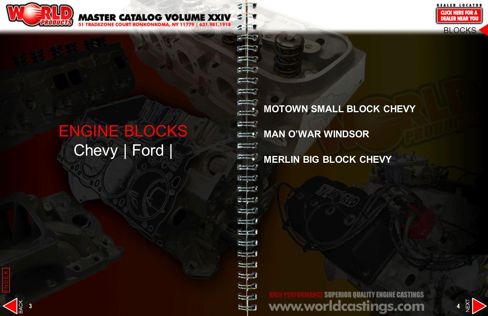 3 4 MOTOWN SMALL BLOCK CHEVYMOTOWN SMALL BLOCK CHEVY MAN OWAR WINDSORMAN OWAR WINDSOR MERLIN BIG BLOCK CHEVYMERLIN BIG BLOCK CHEVY ENGINE BLOCKS Chevy