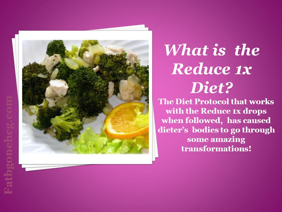 The Diet Protocol that works with the Reduce 1x drops when followed, has caused dieters bodies to go through some amazing transformations! What is the