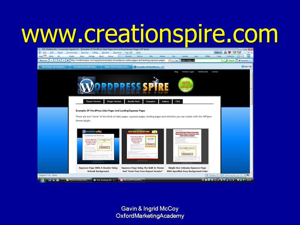 www.creationspire.com