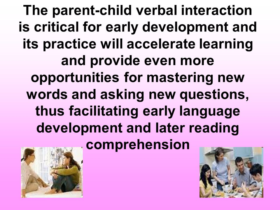 Play/ teach/ interact with your children