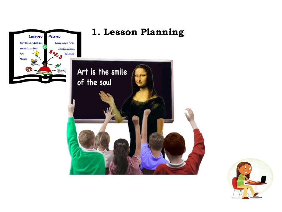 1. Lesson Planning