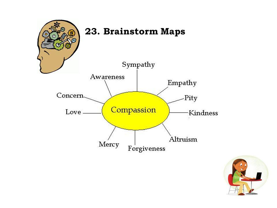 23. Brainstorm Maps