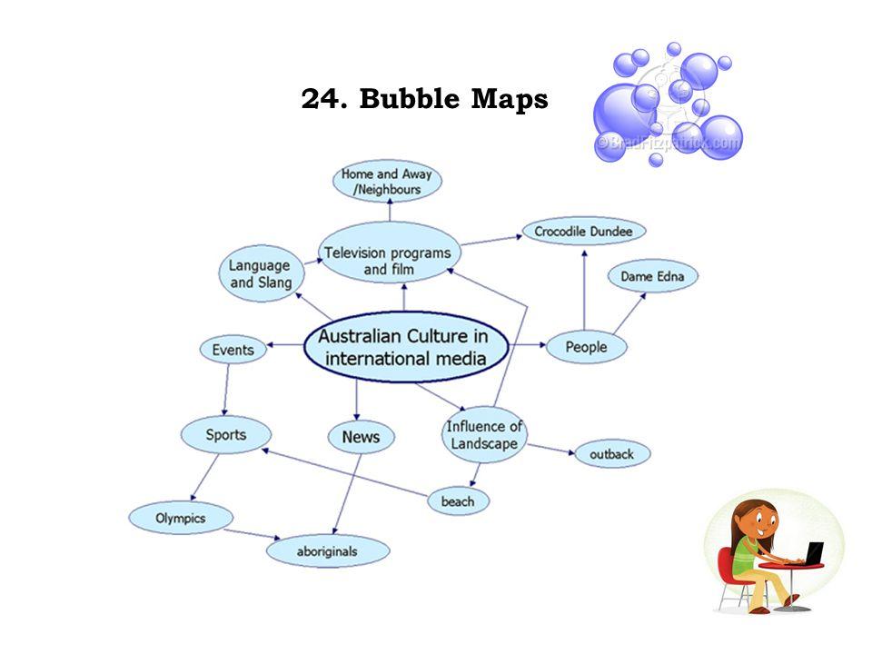 24. Bubble Maps