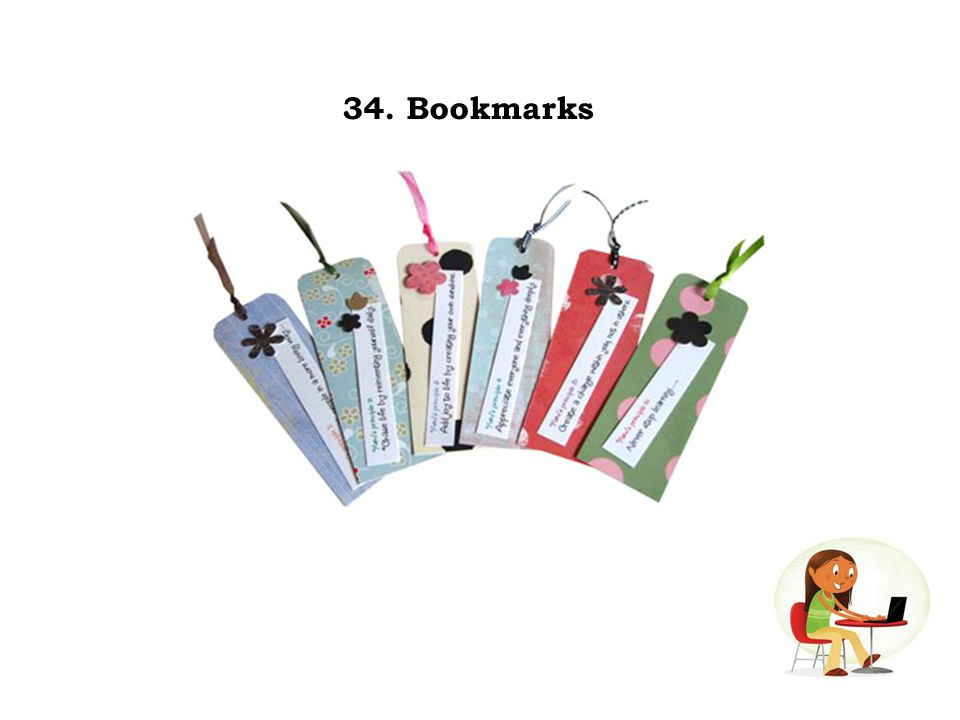 34. Bookmarks