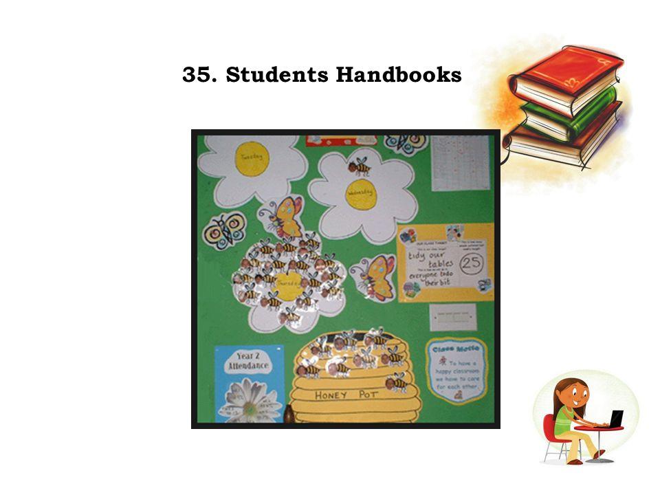 35. Students Handbooks