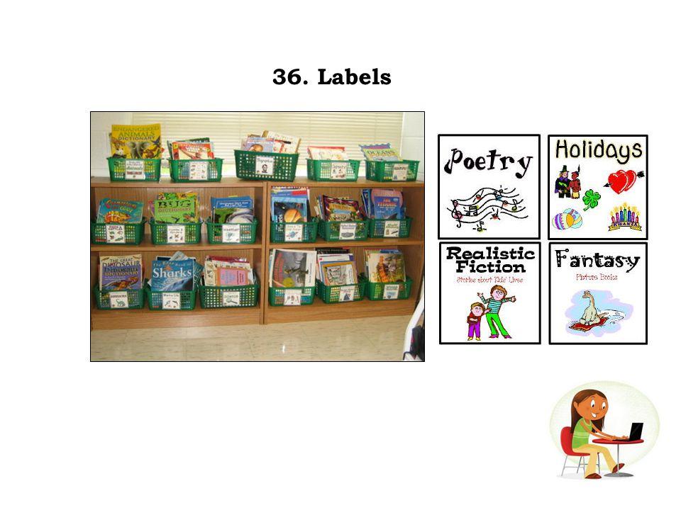 36. Labels
