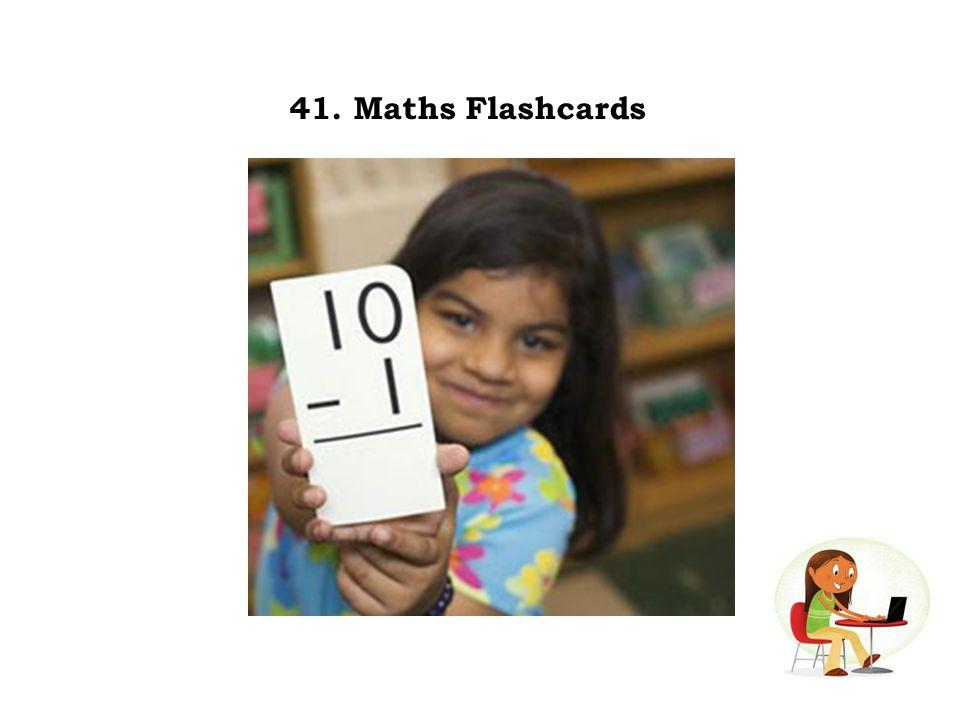 41. Maths Flashcards
