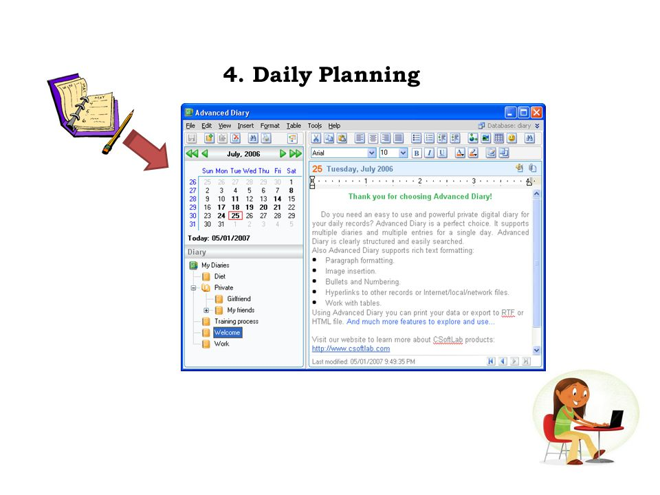 4. Daily Planning