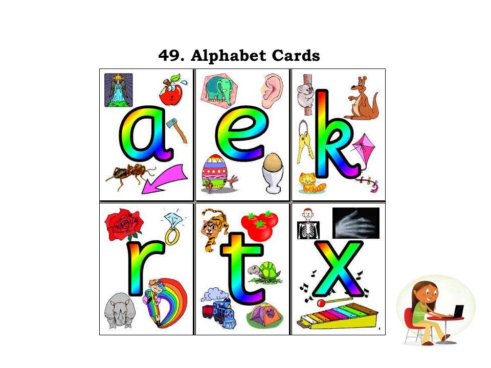 49. Alphabet Cards