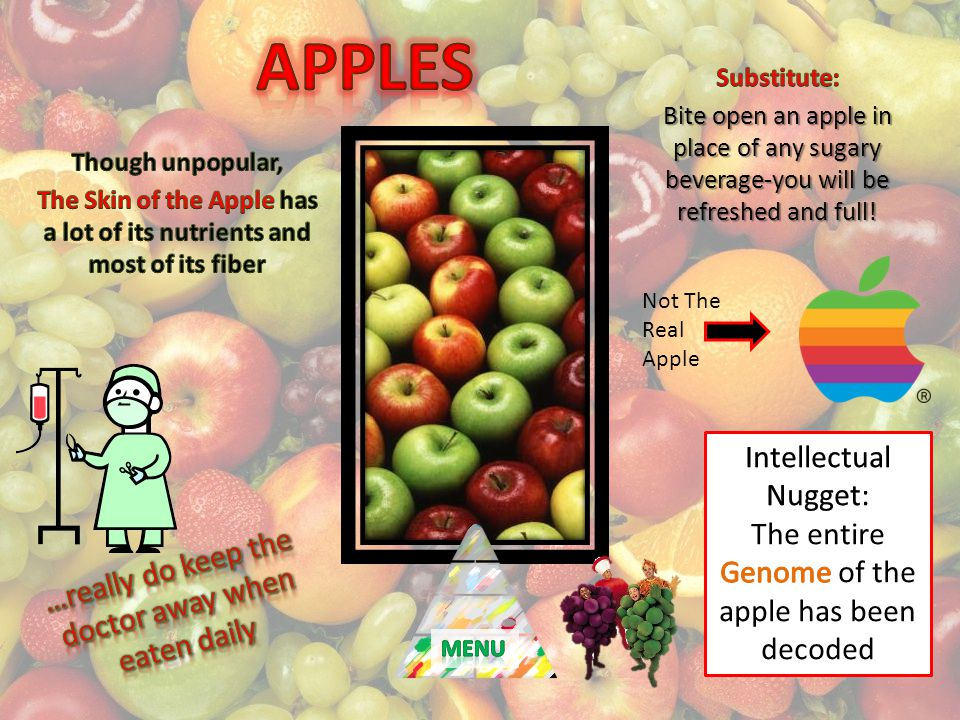 Not The Real Apple