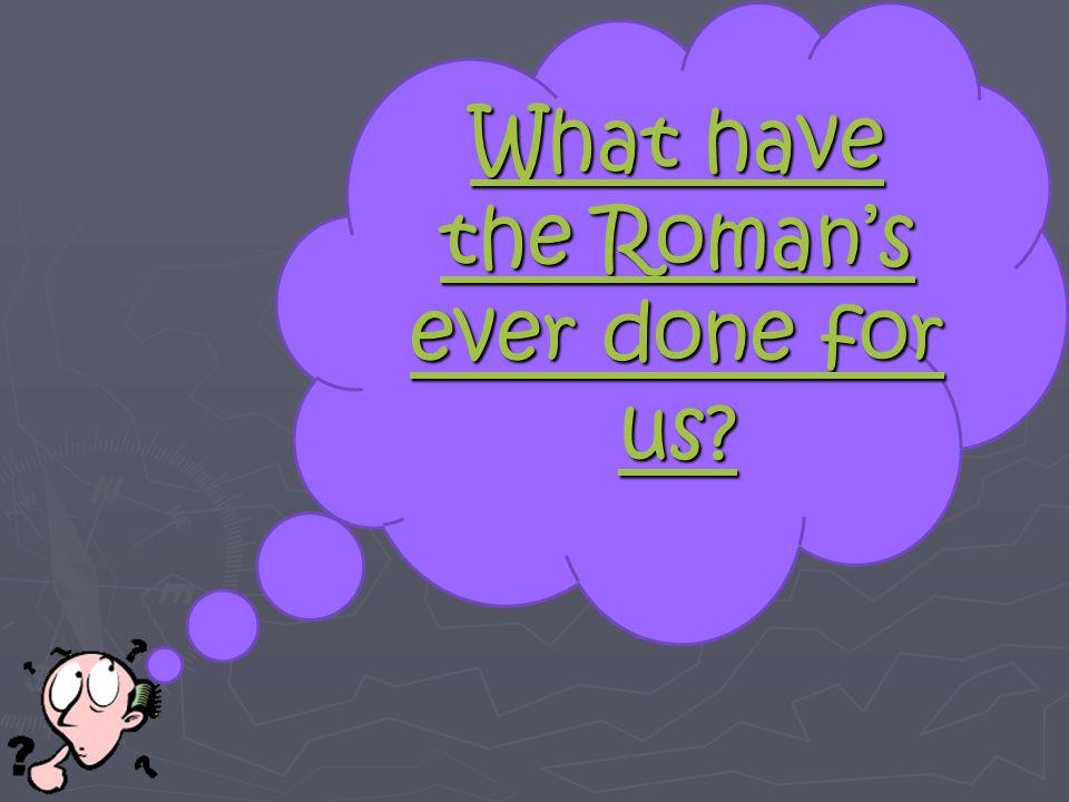 Roman Civil Engineering