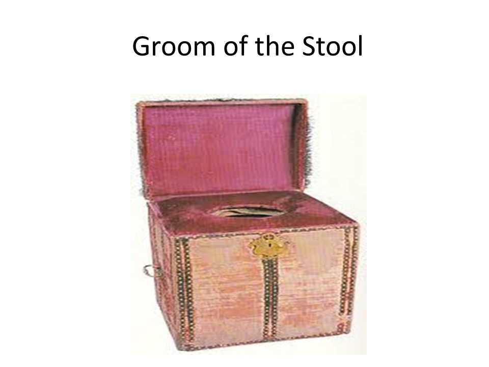Groom of the Stool