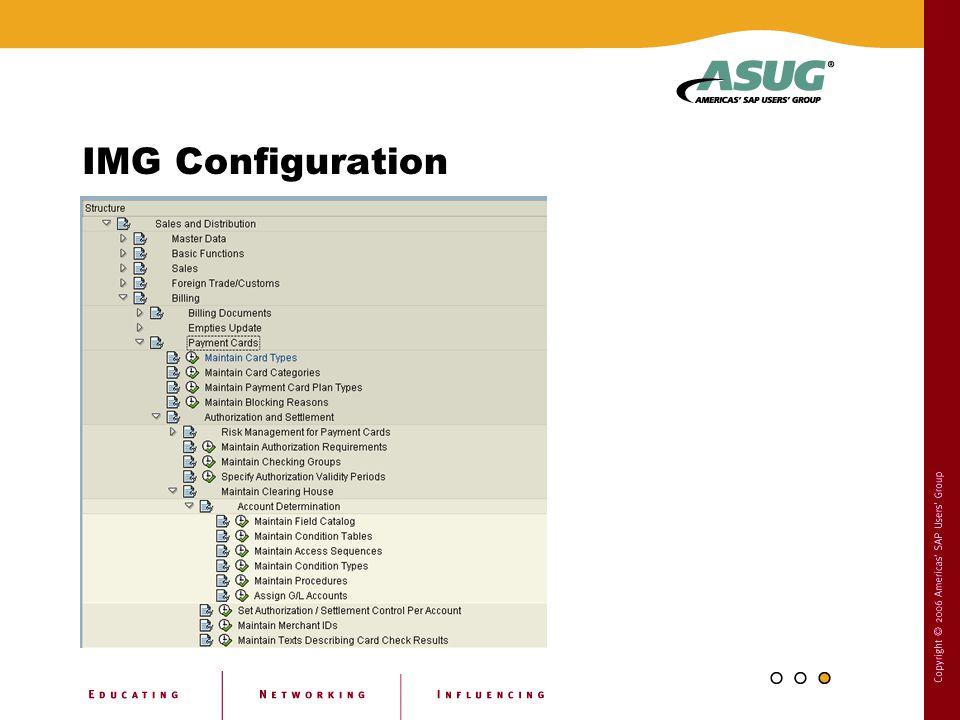IMG Configuration