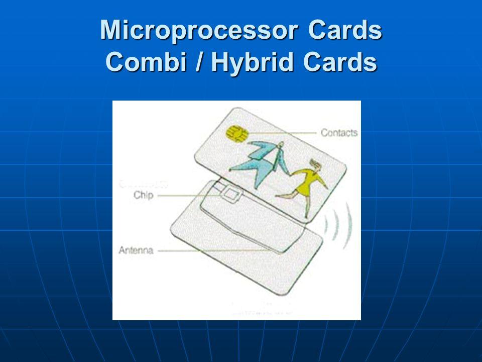 Microprocessor Cards Combi / Hybrid Cards