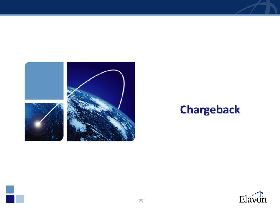 23 Chargeback