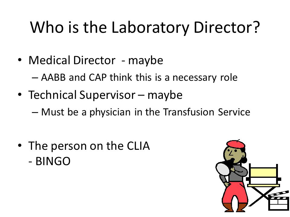 Who is the Laboratory Director.