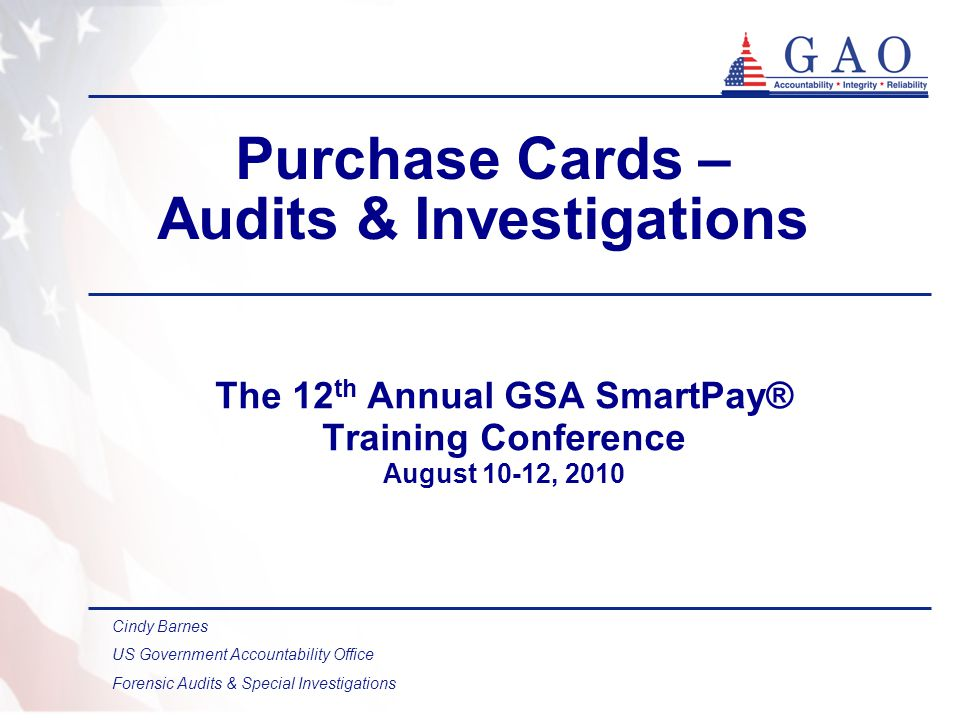 32 Summary of Audit Approach Use data mining and file comparisons to identify unusual transactions Analyze supporting documentation Consult with investigators and legal counsel to identify improper payments Verify that real property was actually recorded in the agencys property records