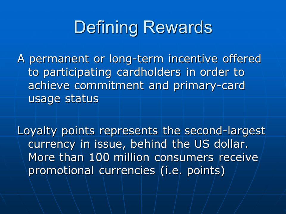 Rewards – Case Study Is a rewards program affordable.