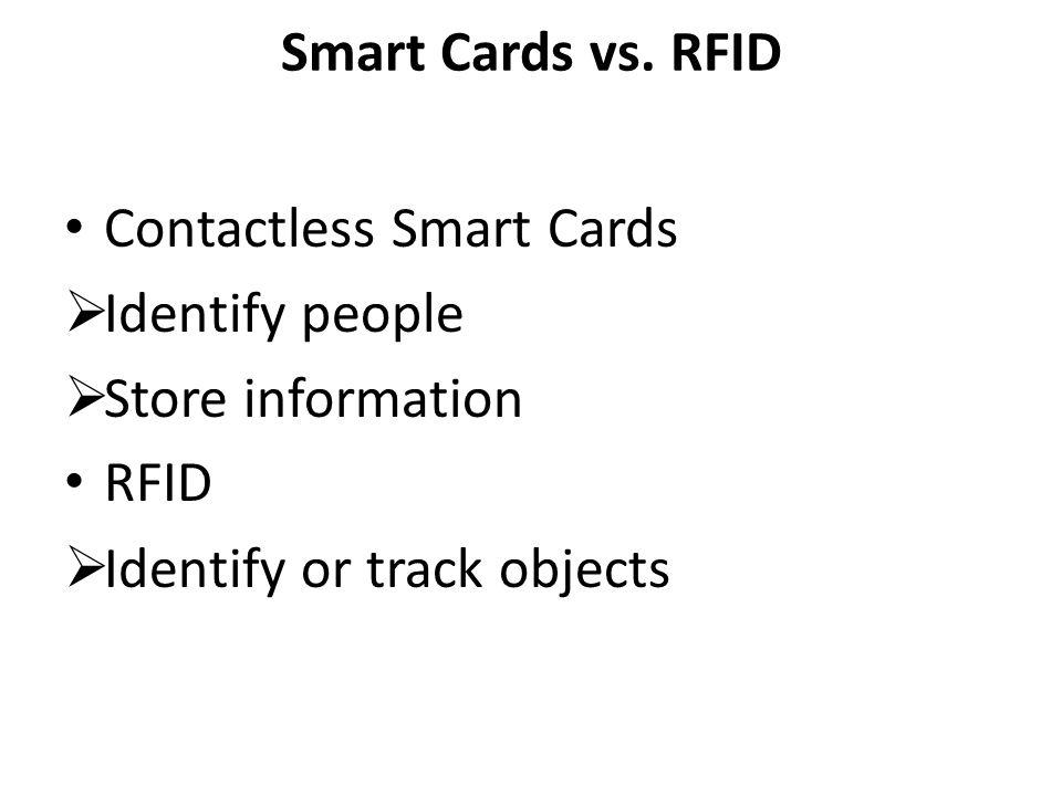 Smart Cards vs.