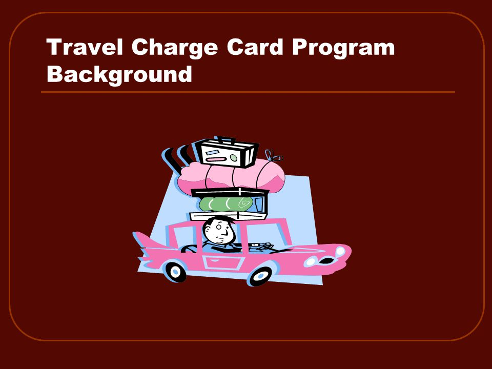 Travel Charge Card Review 6.