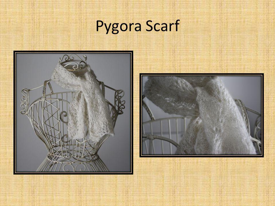 Pygora Scarf