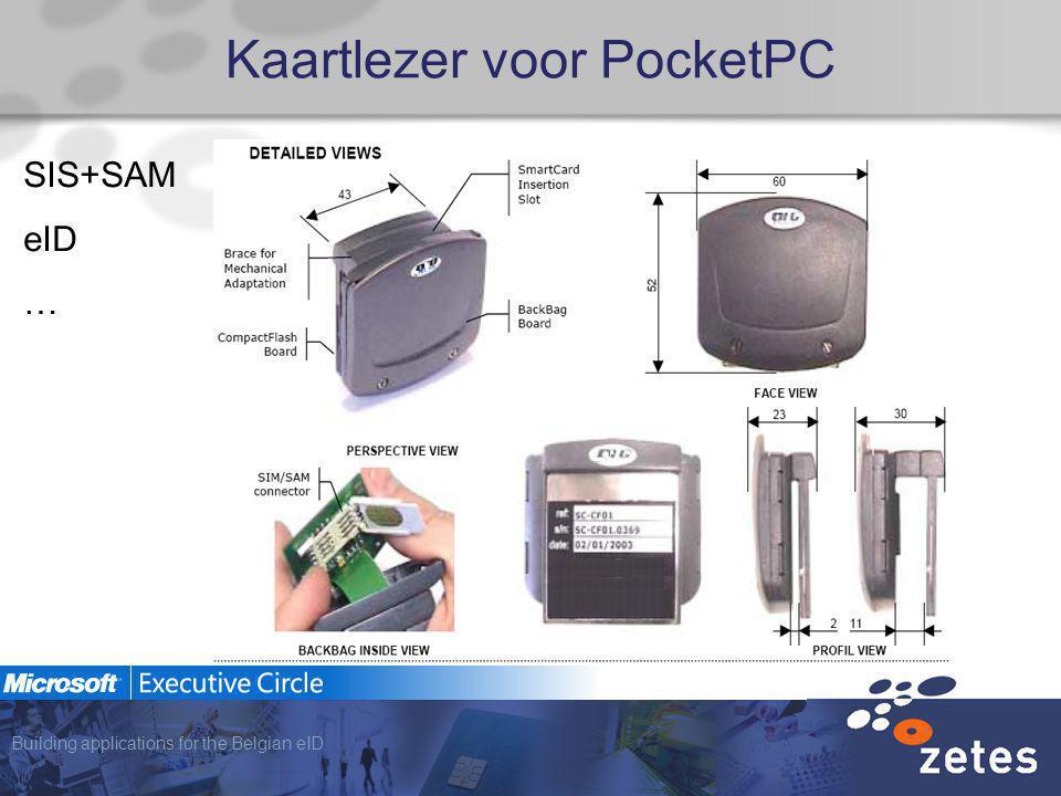 Building applications for the Belgian eID Kaartlezer voor PocketPC SIS+SAM eID …