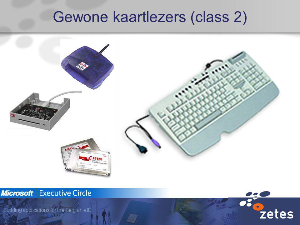 Building applications for the Belgian eID Gewone kaartlezers (class 2)