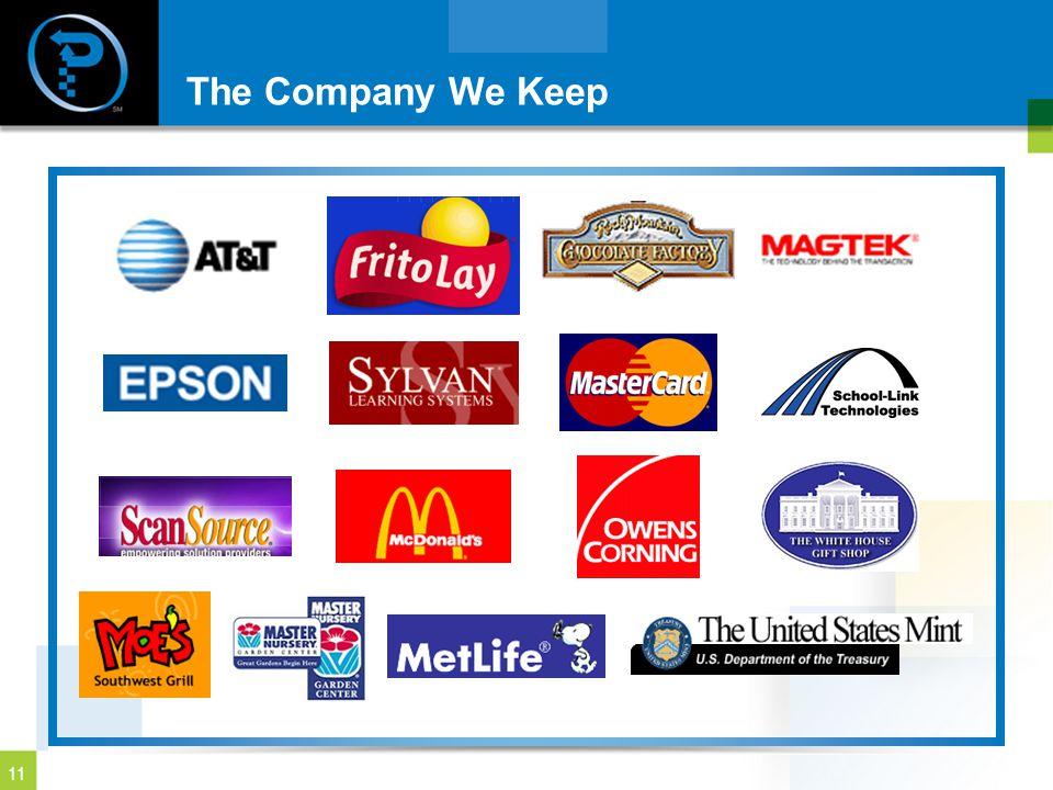 11 The Company We Keep