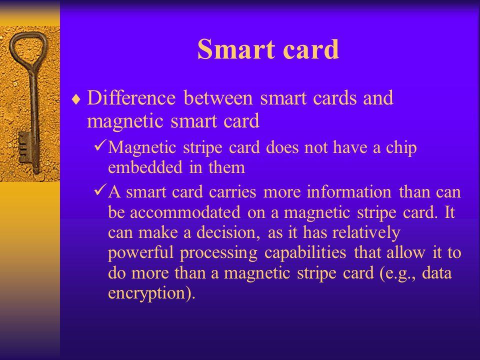 Smart card Variations
