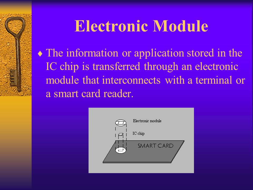 Cryptographic Smart cards Cryptographic cards or crypto cards are high-end microprocessor memory cards with additional support for cryptographic operations (digital signatures and encryption) Crypto cards are designed to allow secure storage of private keys (or other secret keys).