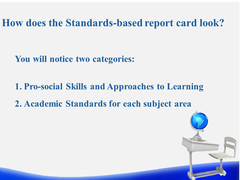 How were the Academic Standards Selected.