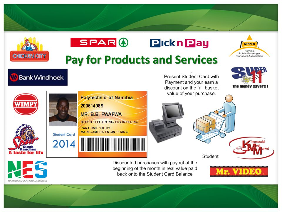 Pay for Products and Services