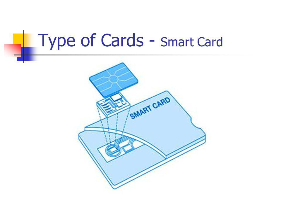 Type of Cards - Smart Card