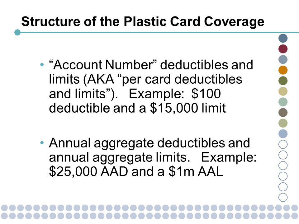 Pricing the Aggregate Deductible Is it sufficient to … Design a table of Excess Loss Factors by ratio to pure premium (Entry Ratio).