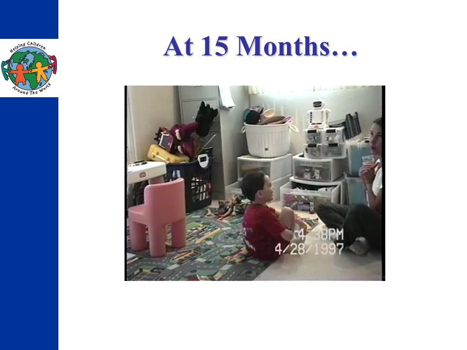 At 15 Months…