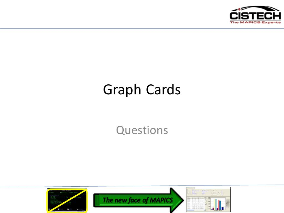 Graph Cards Questions