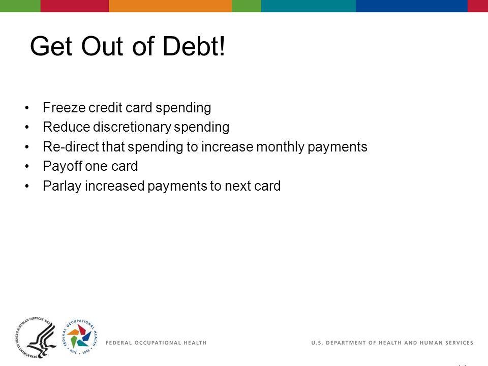 11 06/29/2007 2:30pm eSlide - P4065 - WorkLife4You Get Out of Debt.