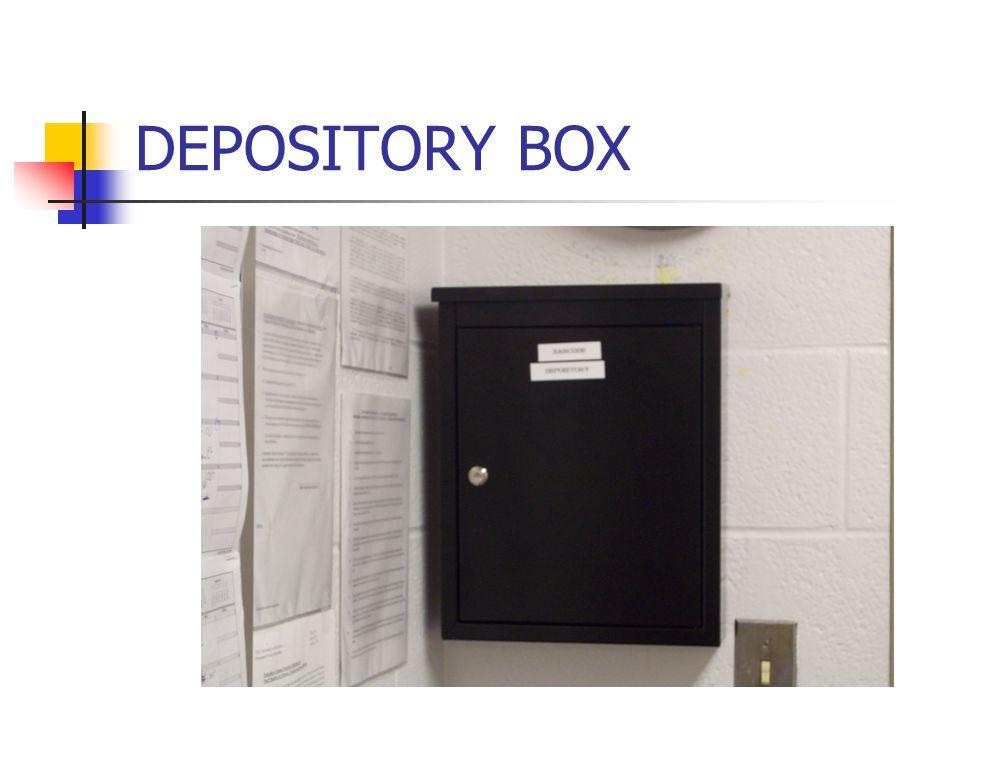 DEPOSITORY BOX