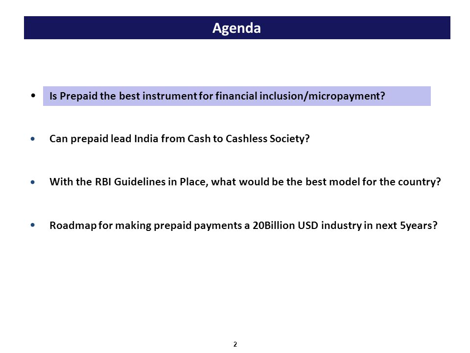Is Prepaid the best instrument for financial inclusion/micropayment.