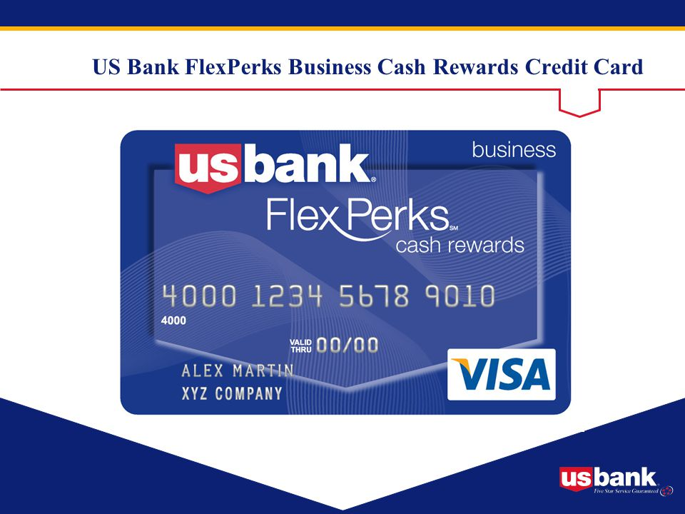 US Bank FlexPerks Business Cash Rewards Credit Card
