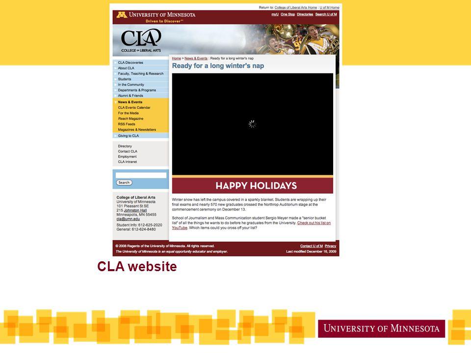 CLA website